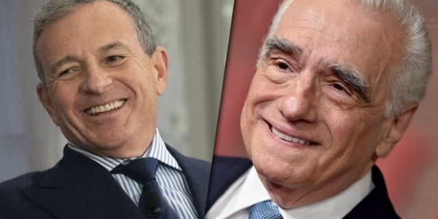 Bob Iger Says He's Planning a Meeting With Martin Scorsese
