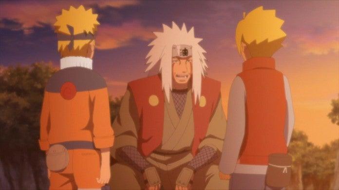 Boruto 131 Jiraiya Rasengan Naruto Chakra Match