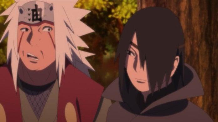 Boruto Anime 132 Jiraiya Discovers Adult Sasuke True Identity