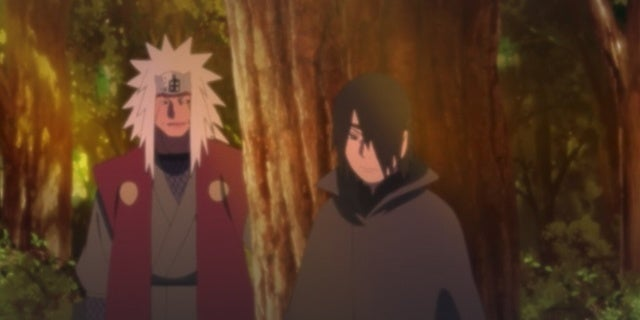 Naruto Fans Need This Sasuke and Jiraiya Moment in Boruto's Time Travel Arc