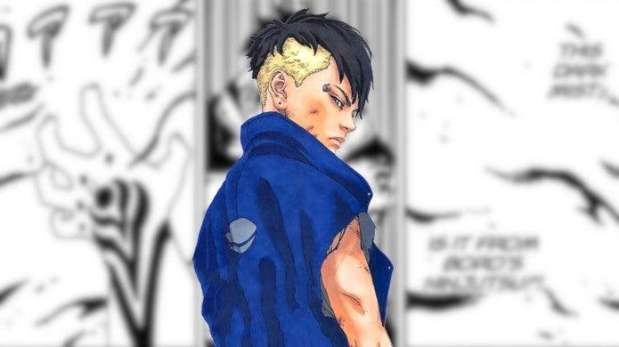 Boruto Manga 40 Boro Black Mist Jutsu Powers vs Kawaki