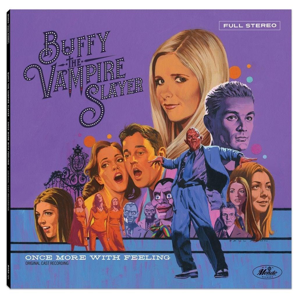 buffy the vampire slayer soundtrack record vinyl mondo