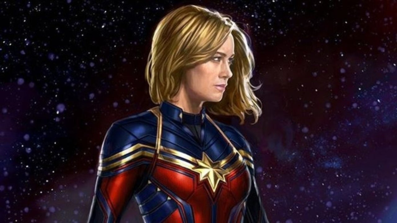 Endgame Concept Art Offers Closer Look At Captain Marvel S New Costume The concept art that was released this week was created by comic book artist andy park. endgame concept art offers closer look