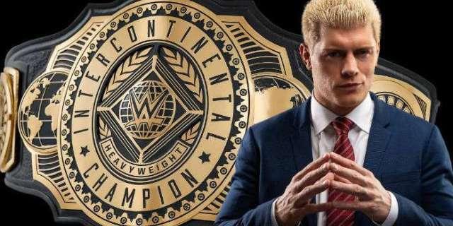 Cody Rhodes Responds to WWE's New Intercontinental Championship Design