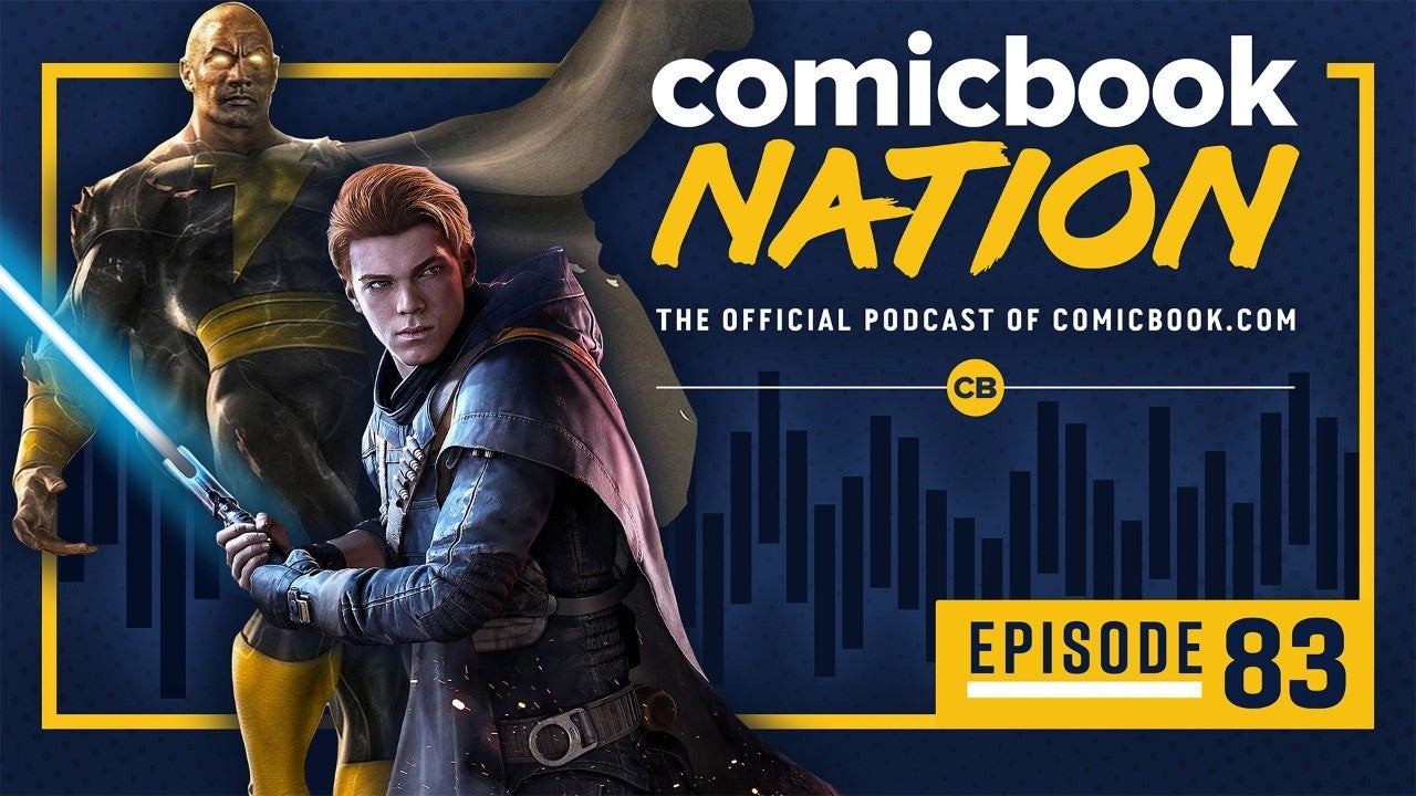 ComicBook Nation Podcast - Dwayne Rock Johnson Black Adam Movie Star Wars Jedi Fallen Order Reviews