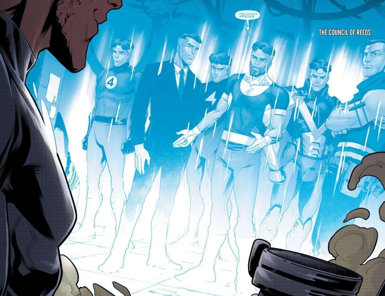 Council of Reeds Marvel Venom