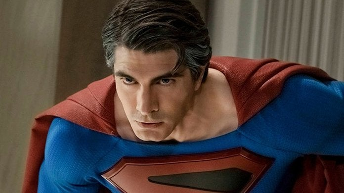 crisis on infinite earths brandon routh superman