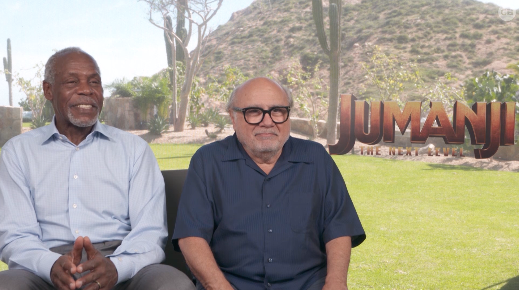 Danny Glover and Danny DeVito Talk Jumanji: The Next Level screen capture