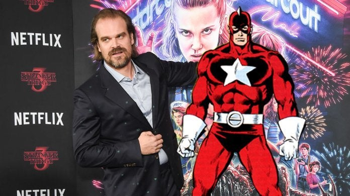 David Harbour Red Guardians Black Widow