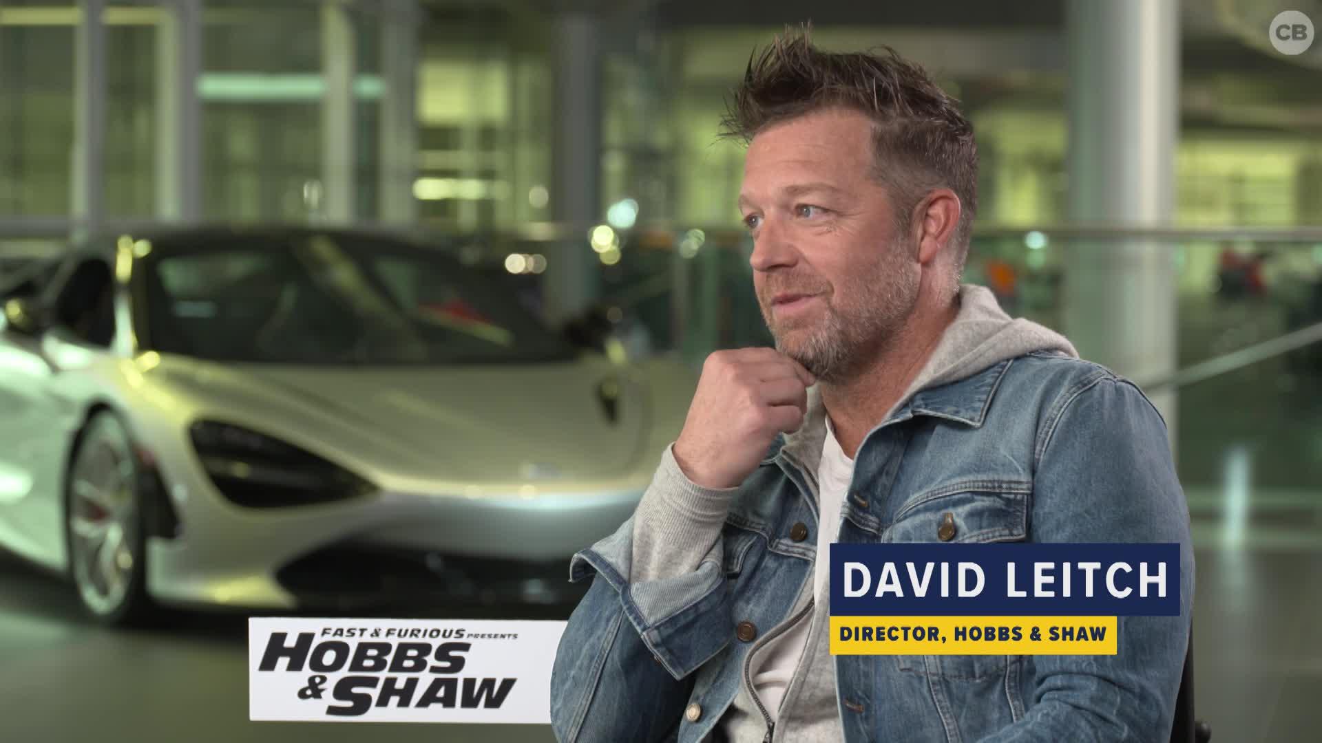 David Leitch Talks HOBBS & SHAW screen capture