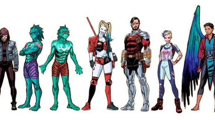 DC New Task Force X Suicide Squad