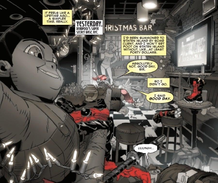 deadpool 1 avengers endgame easter egg