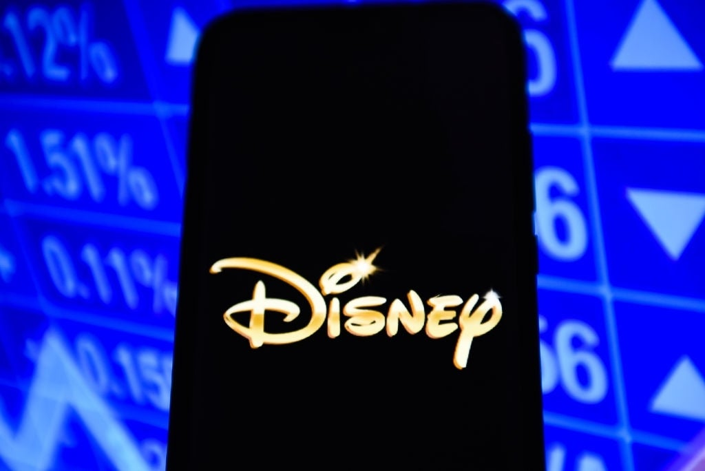 disney logo on phone