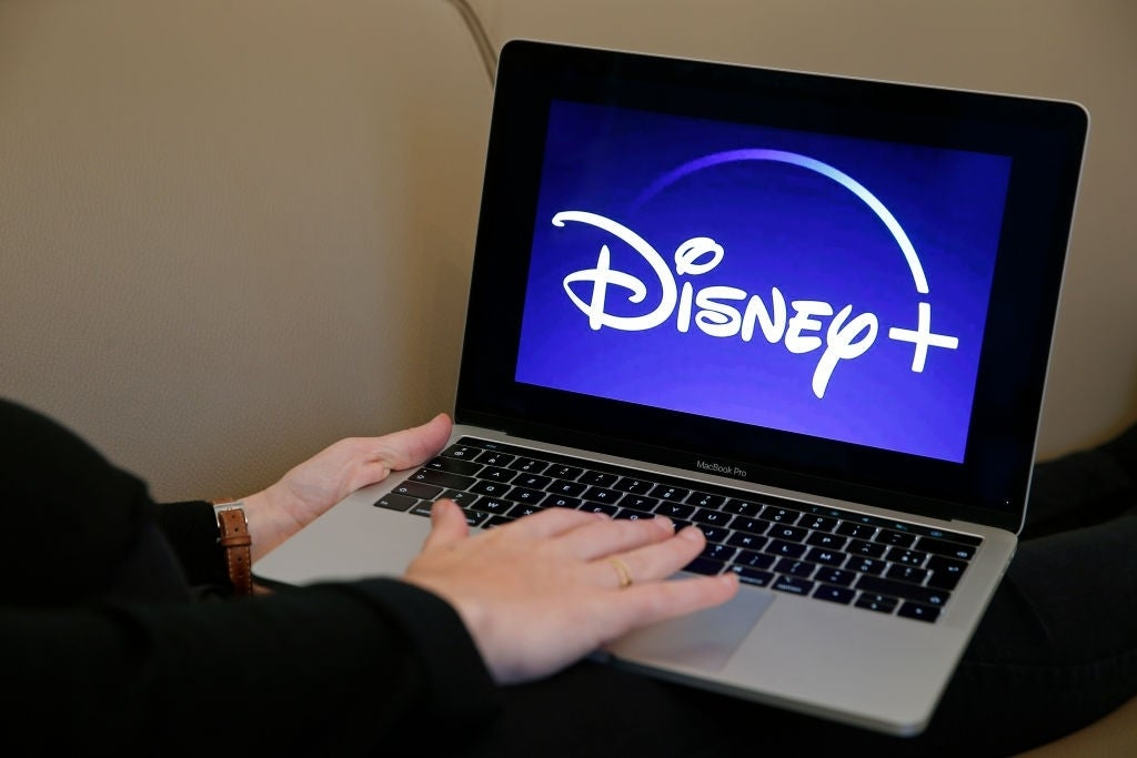 disney plus laptop