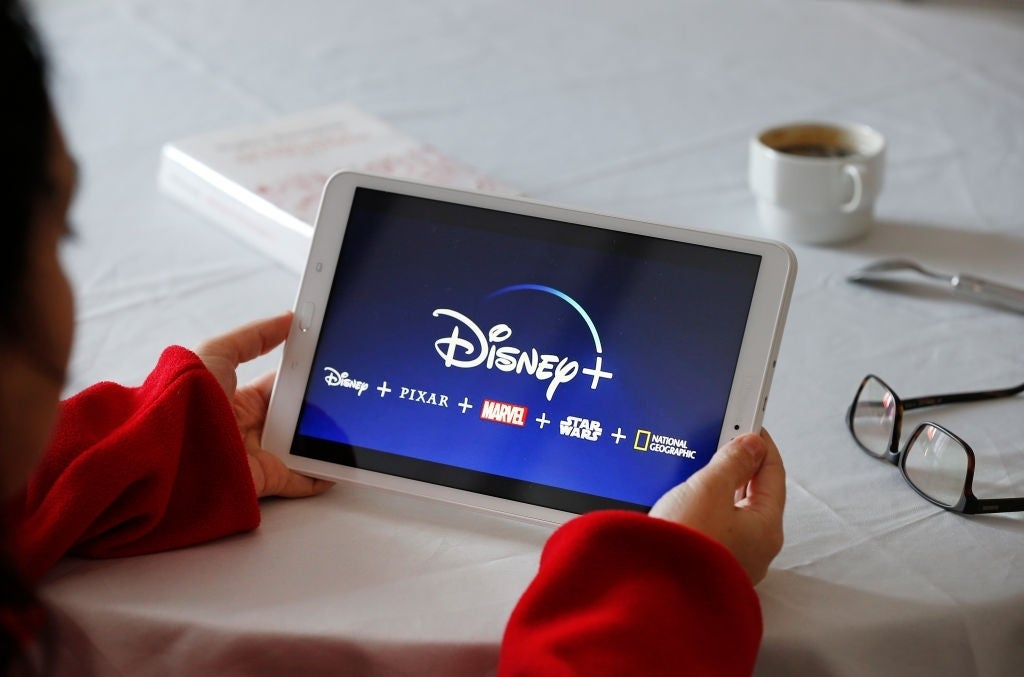 disney plus tablet
