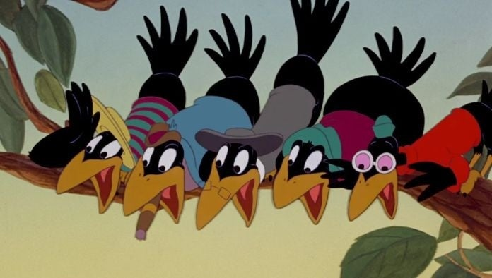 Dumbo's Racist Crows Are Still Seen on Disney Plus