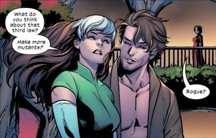 Excalibur Rogue Gambit X-Men