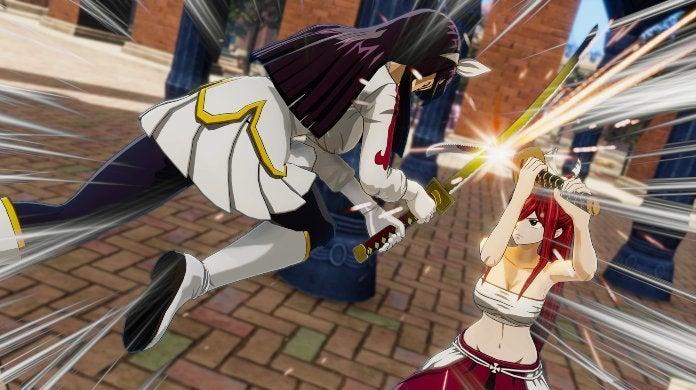 Fairy Tail Game Erza Kagura