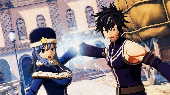 Fairy Tail Game Gray Juvia