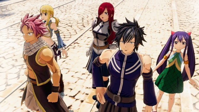 Fairy Tail Game Party