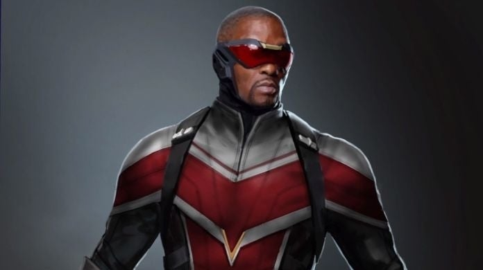Falcon and the Winter Soldier New Costume Sam Wilson 2