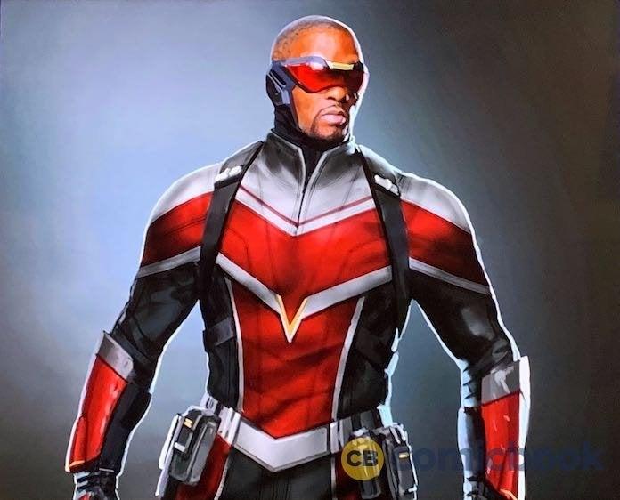 Falcon-costume