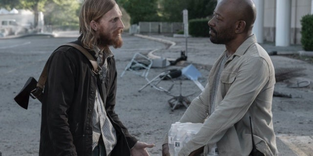 Fear the Walking Dead Morgan Dwight Austin Amelio Lennie James
