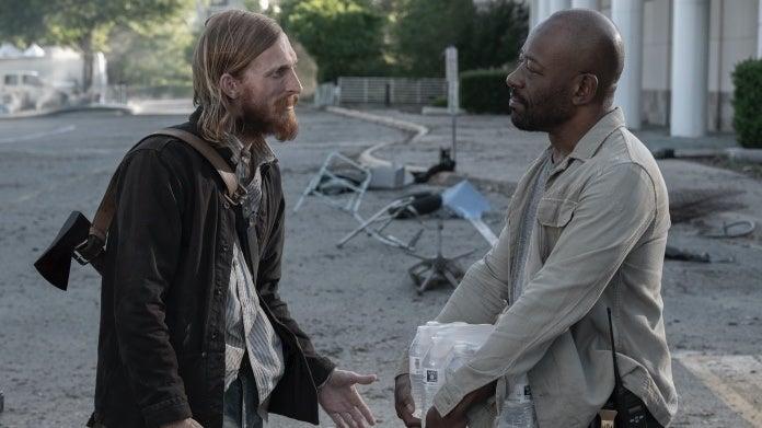 Fear the Walking Dead Morgan Dwight Austin Amelio Lennie James