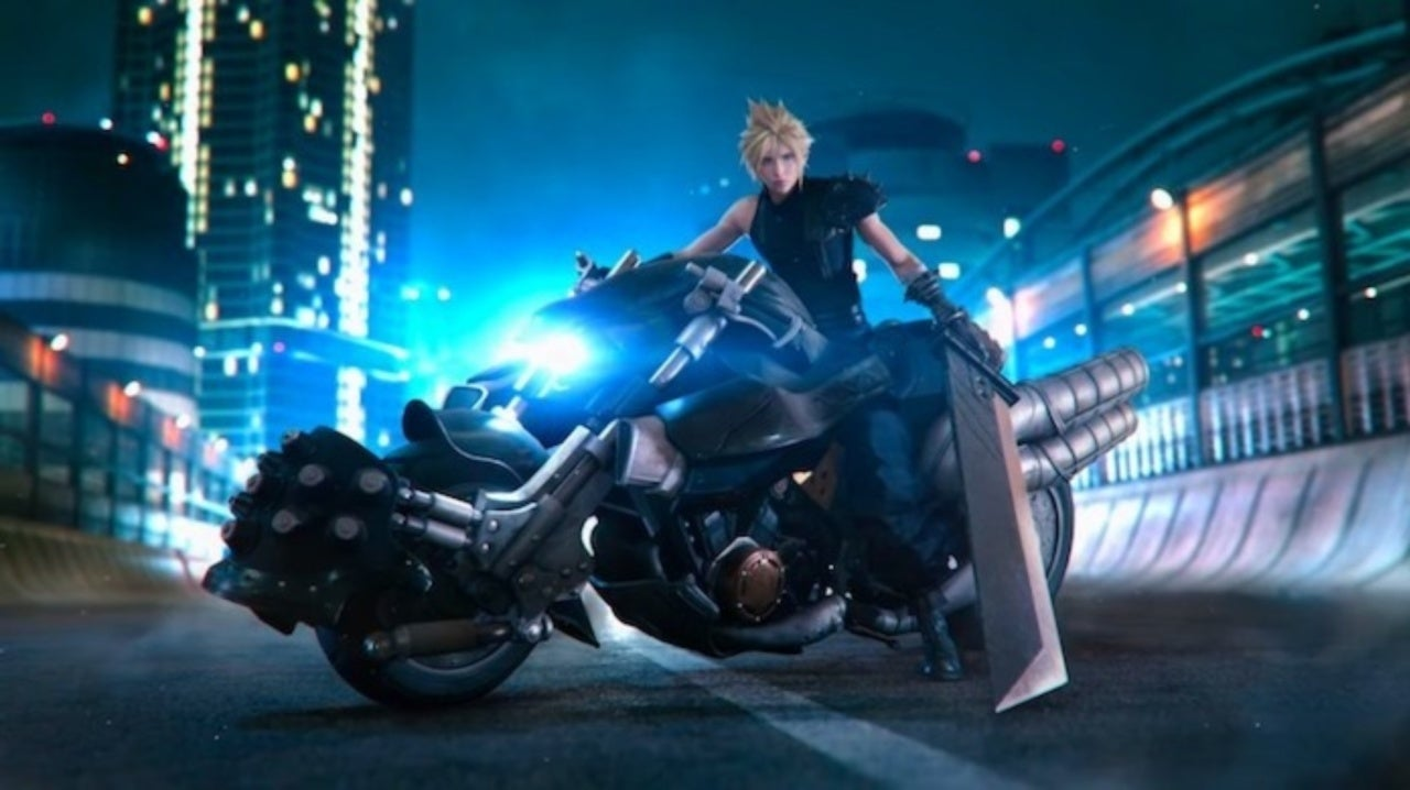 New Final Fantasy Vii Remake Cloud Strife Trailer Revealed