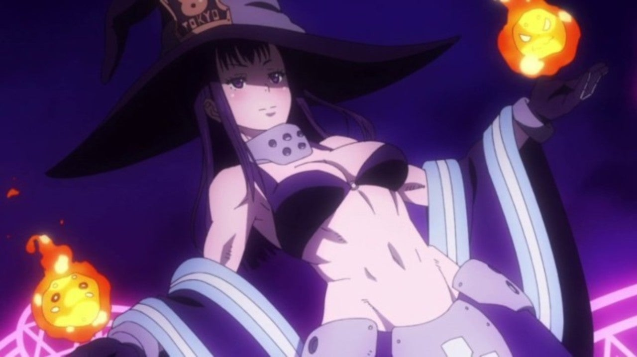Fire Force Cosplay Perfectly Recreates Maki S Spicy Witch Look A page for describing characters: fire force cosplay perfectly recreates