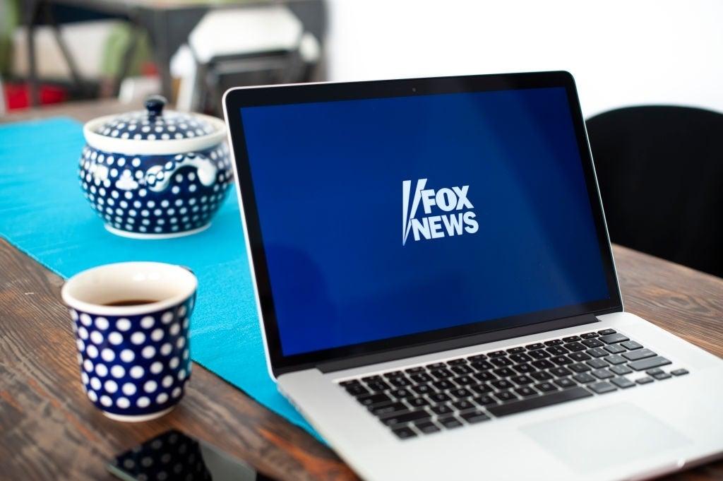 fox news logo laptop