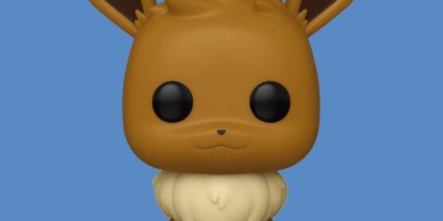 Eevee Joins Funko's Pokemon Pop Figure Lineup