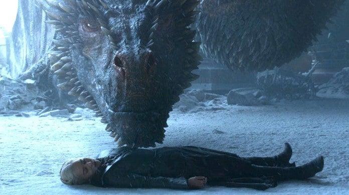Game of Thrones Season 8 Where Did Drogon Take Eat Daenerys Body