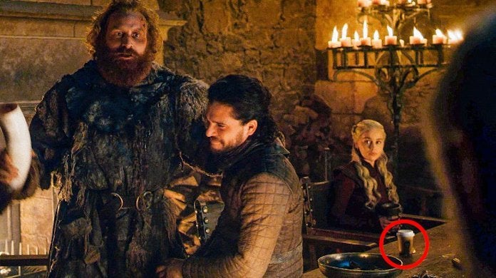 Game Thrones Season 8 Coffee Cup Explained Not Starbucks