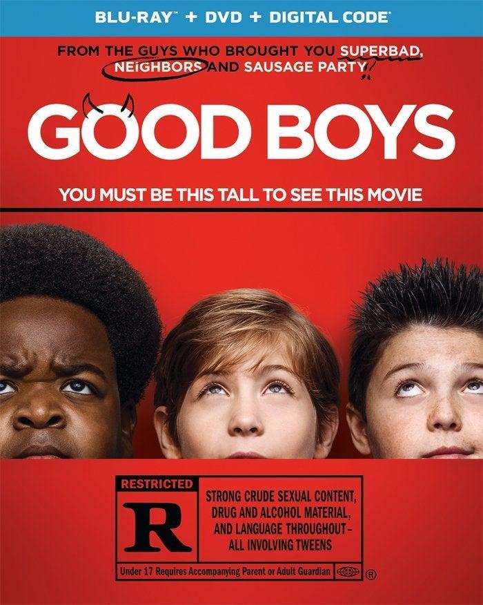 good boys blu ray cover movie
