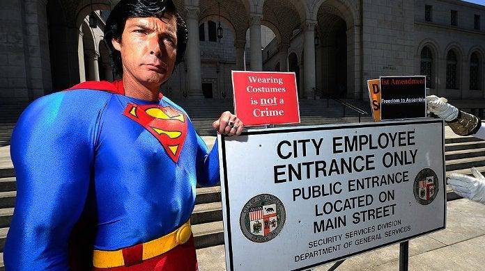 Hollywood Superman Christopher Dennis