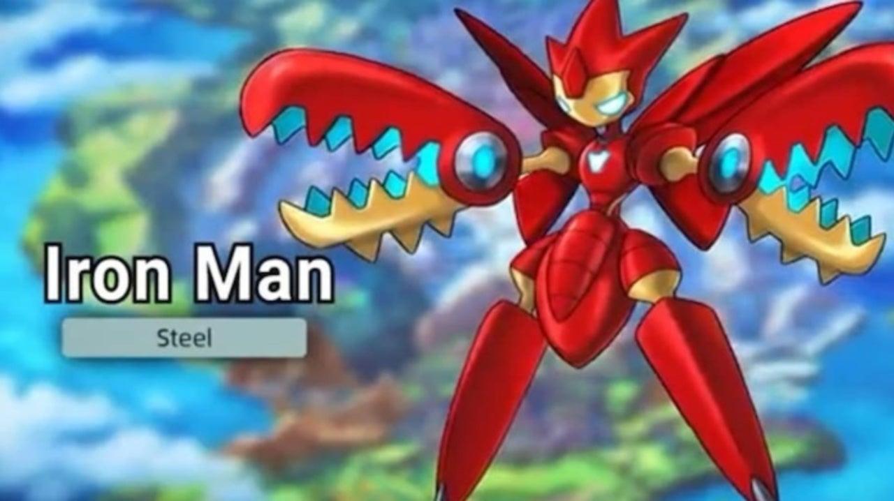 Pokemon Sword and Shield Fan Reimagines Avengers as Pokemon