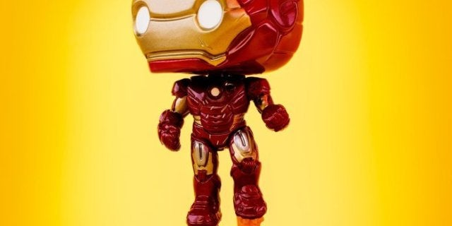 Funko's First Avengers Assemble Iron Man Deluxe Diorama Pop Figure is Live