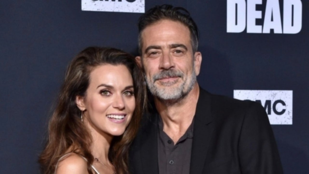 """Hilarie Burton Says She """"Lucked Out"""" Marrying The Walking Dead's Jeffrey Dean Morgan"""