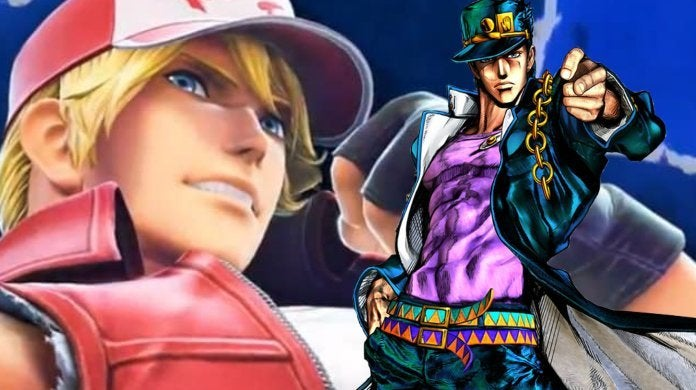 JoJos Bizarre Adventure Jotaro Super Smash Bros Ultimate Terry Bogard