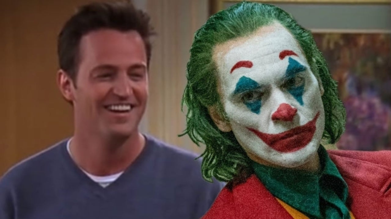 Friends Star Matthew Perry Shares Joker Meme About Chandler