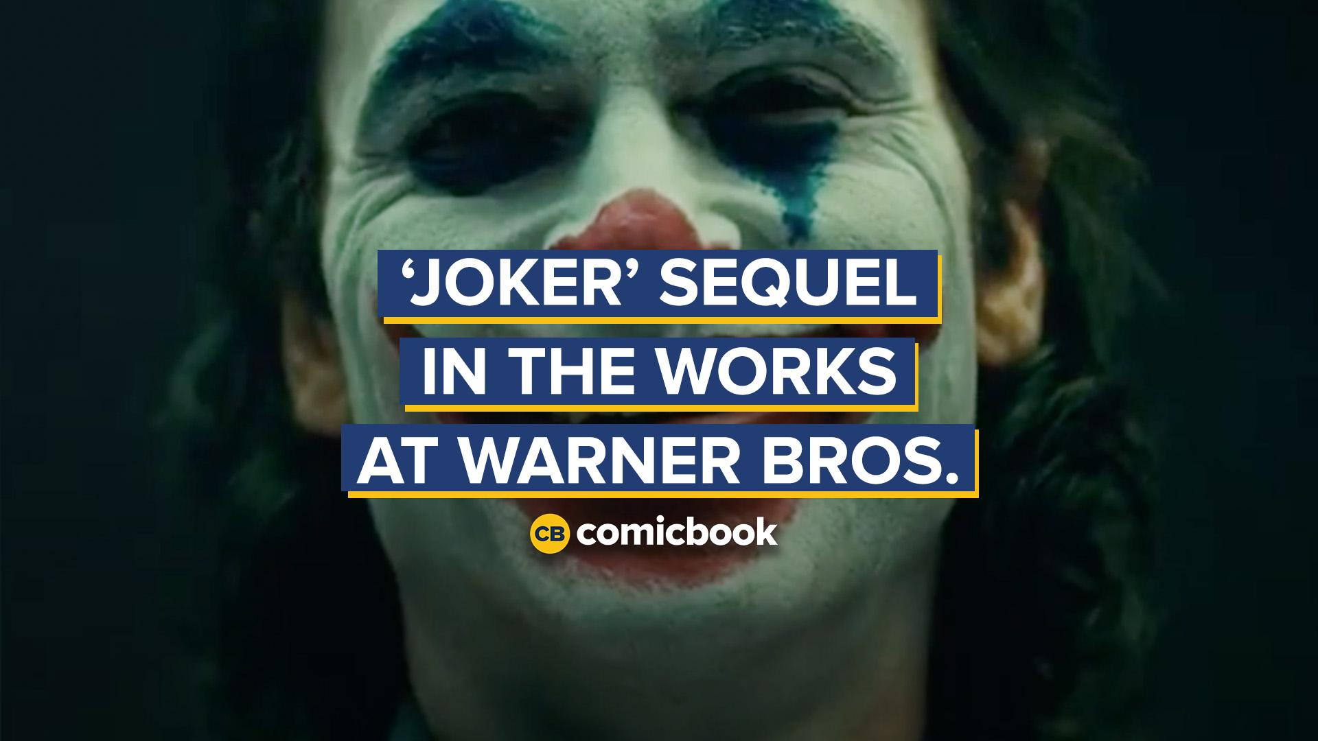 JOKER Sequel in the Works at Warner Bros. With Todd Phillips screen capture