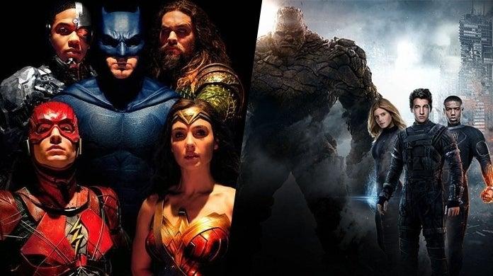 justice league fantastic four