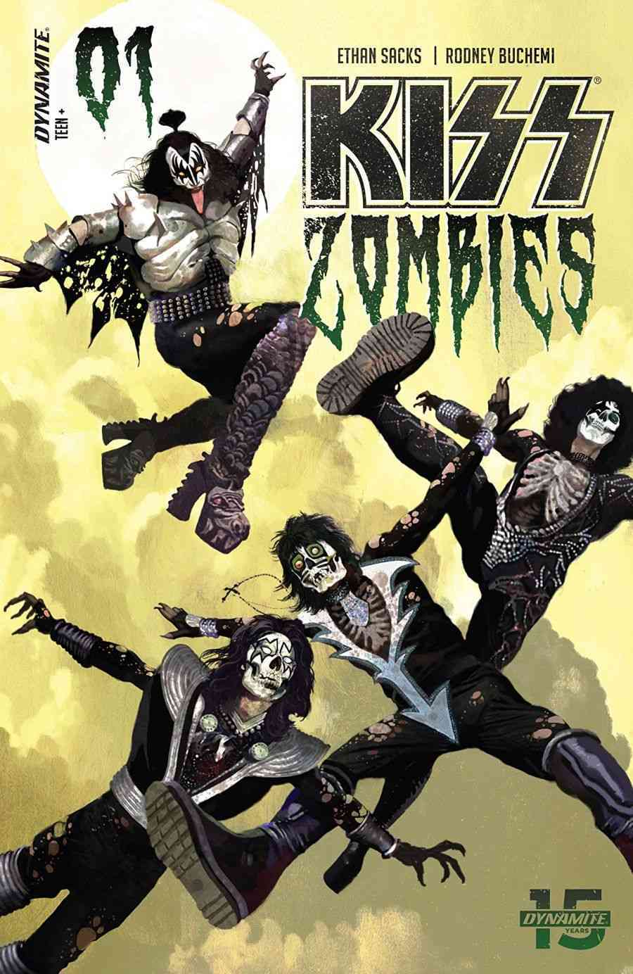 Kiss Zombies #1