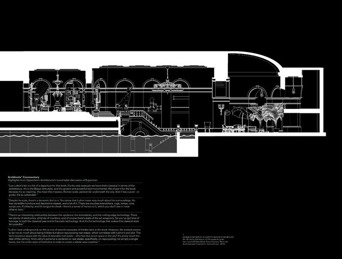 Lair-Superman-Grand Central Terminal (Original Illustration)