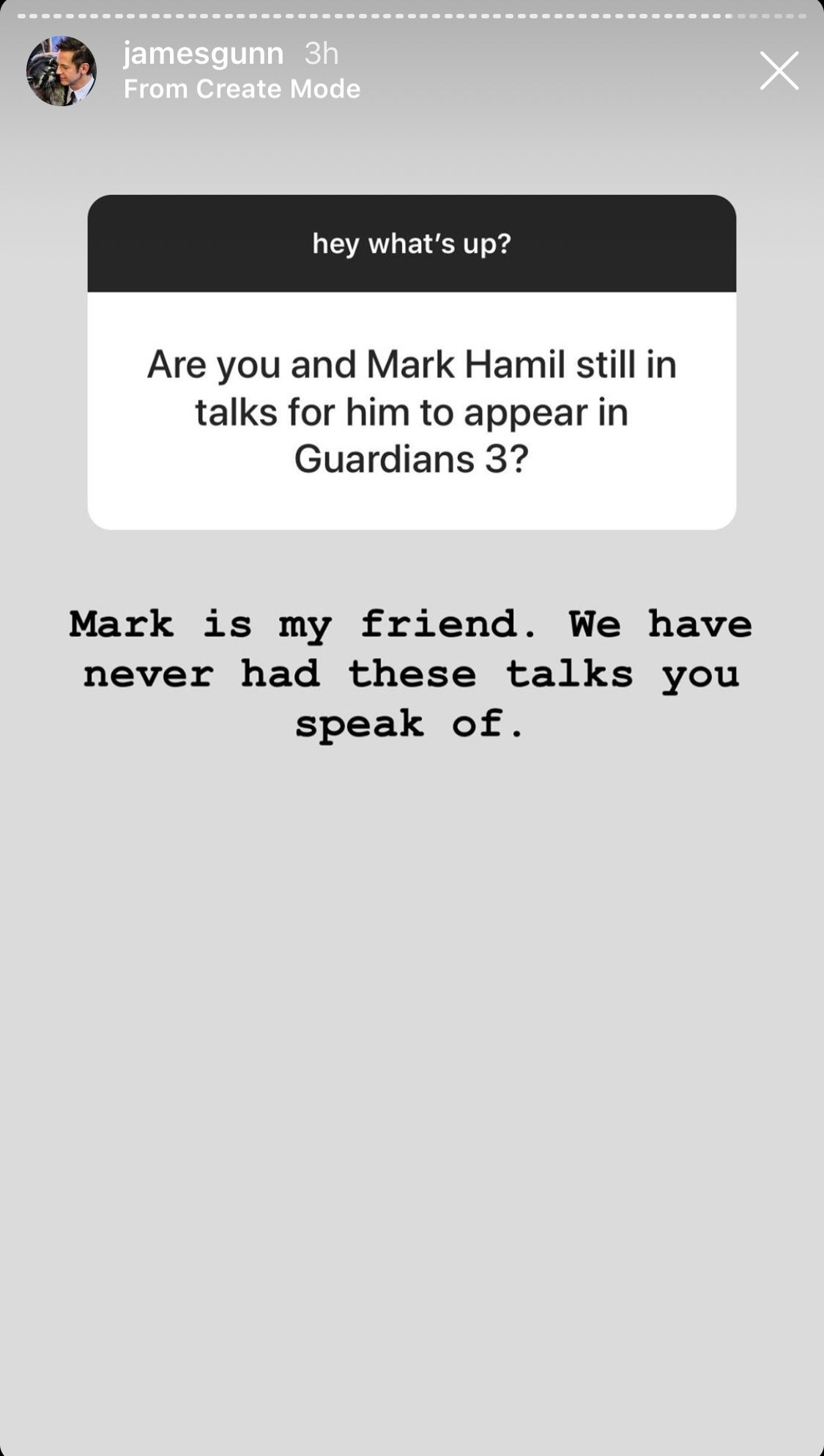 mark hamill guardians of the galaxy 3