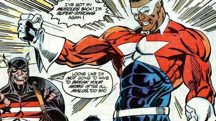 Marvel Falcon Winter Soldier Battlestar Lemar Hoskins MCU