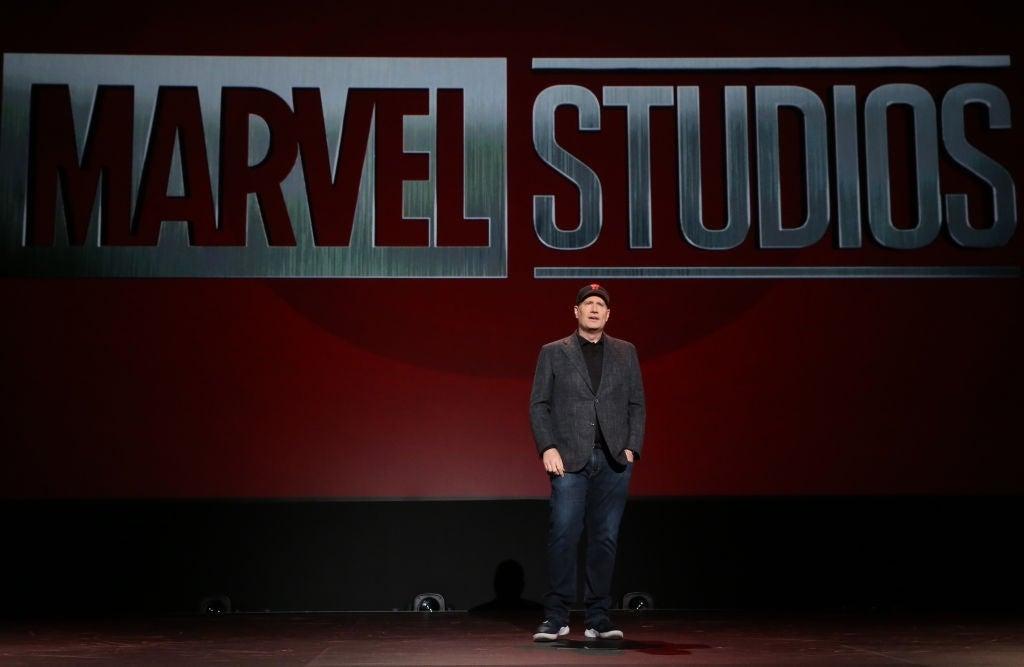 marvel studios logo kevin feige