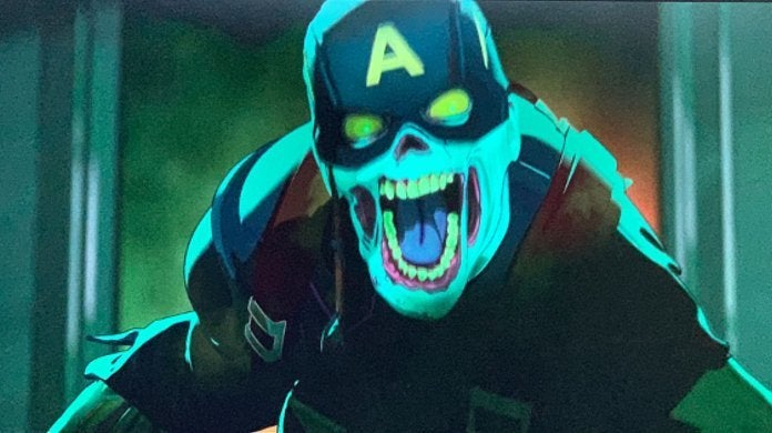 Marvel What If Captain America Zombie