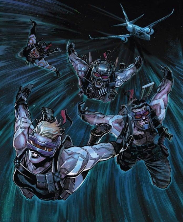 Marvel X-Force The Reavers Attack Krakoa Kill Xavier